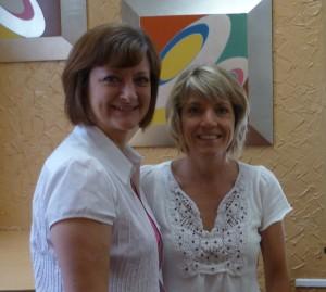Leslie Santamaria and me
