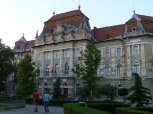 Historical building, Oradea, Romania