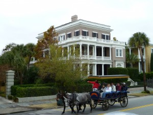 Carriage Ride along the High Battery, Charleston, SC