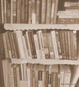 Old Fashioned Bookshelf_Connie Mann