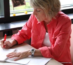 Author Connie Mann
