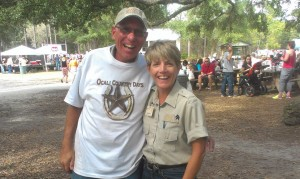Hubby and me at Ocali Country Days