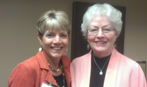 With Sharon Sala at Ancient City Romance Author's Conference
