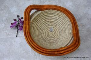 Bangladesh Bowl handmade by weavers like L.G.