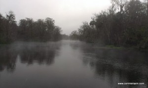 Silver River on a winter morning
